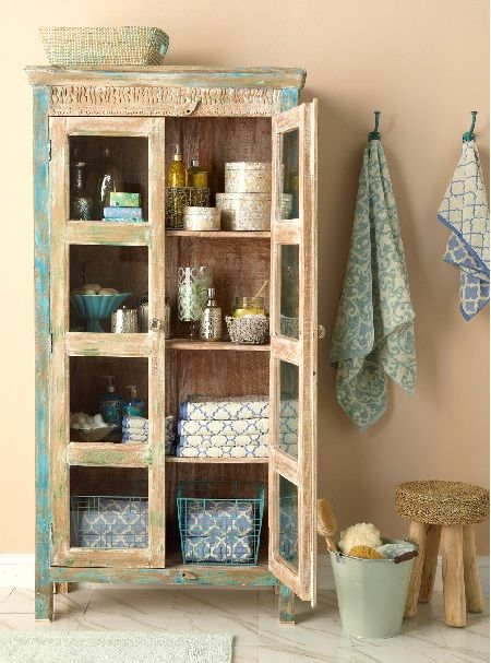 Cabinets India And Linens On Pinterest