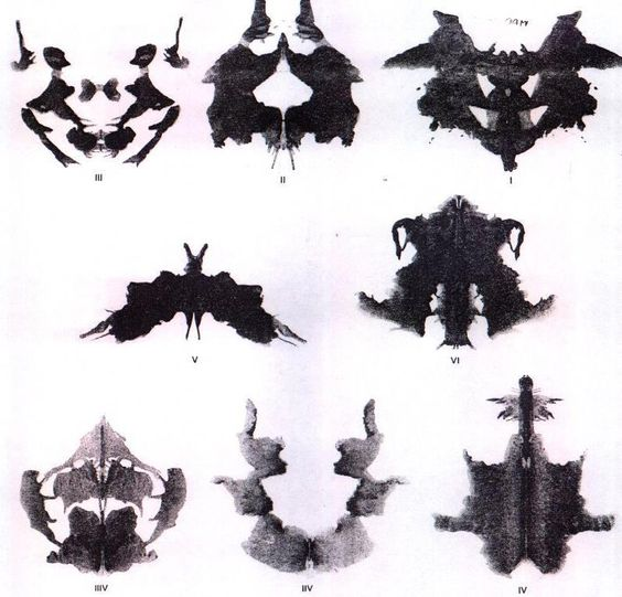 Where can I buy a copy of the Rorschach Test (inkblot test)?