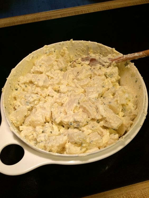First try at making potato salad!