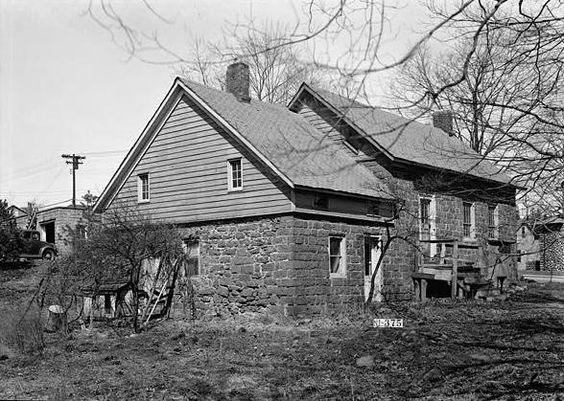 Lozier House and Van Riper Mill in Bergen County, New Jersey.