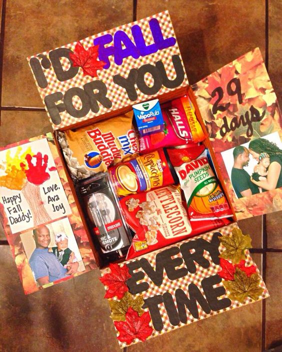 Thanksgiving/ Fall Themed Care Package -- Thanksgiving care package ideas - TodayWeDate.com