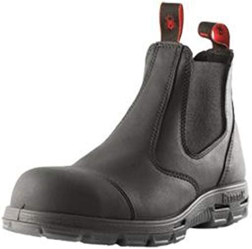 New Redback Boots Usbbksc Easy Escape Steel Toe Scuff Cap Black Online Findhitstoday In 2020 Boots Redback Boots Slip On Boots
