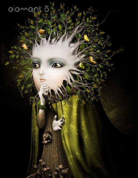 David Ho Artist | David Ho y todo su arte bizarro y/o macabro.