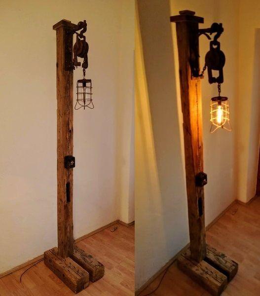 Rustic Floor Lamp Rustic Floor Lamps Wooden Floor Lamps Floor Lamp