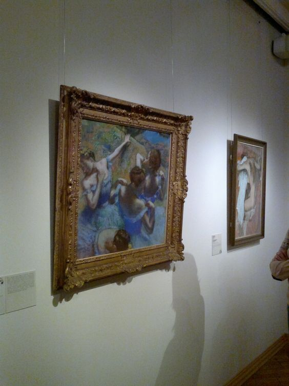 Edgar Degas in The Pushkin State Museum of Fine Arts