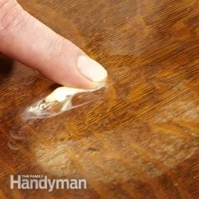 How To Refinish Furniture The Family Handyman The Jellies And Furniture