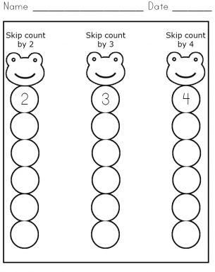 skip count 2 4 worksheet free printable worksheets pinterest the o 39 jays math and count. Black Bedroom Furniture Sets. Home Design Ideas