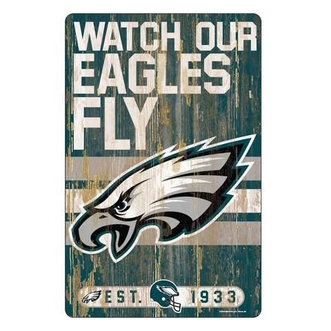 Personalized Customized Philadelphia Eagles Name Poster Sport Banner with Frame