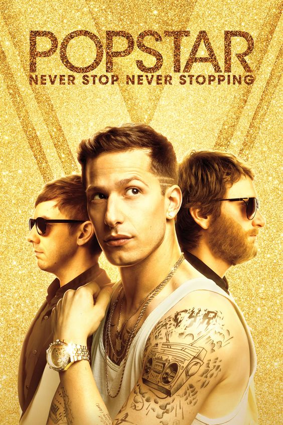 Popstar: Never Stop Never Stopping Movie Poster - Andy Samberg, Jorma Taccone, Akiva Schaffer  #Popstar, #NeverStopNeverStopping, #AndySamberg, #JormaTaccone, #AkivaSchaffer, #Comedy, #Art, #Film, #Movie, #Poster