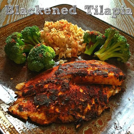 blackened tilapia, healthy blackened tilapia, healthy fish recipe, baked fish, 22 minute hard corps recipe, 21 day fix recipe, healthy dinner recipes