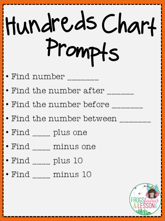 Frogs, Fairies, and Lesson Plans: My Fab Five Math Centers! - Part 2 120 chart center