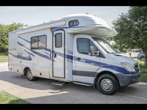 2009 Fleetwood Pulse 24a Class C Diesel Motorhome Slide Out