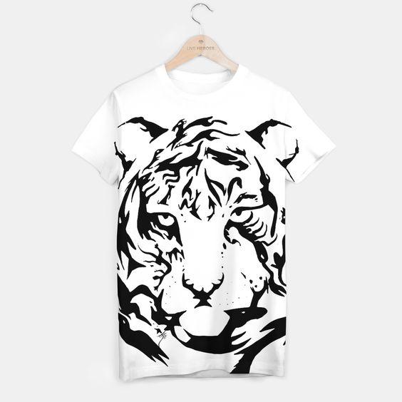 Wild Tiger - Camiseta/T-shirt - Cómprala aquí/Buy it here - https://liveheroes.com/es/product/show/152237 - Diferentes tallas/Different sizes
