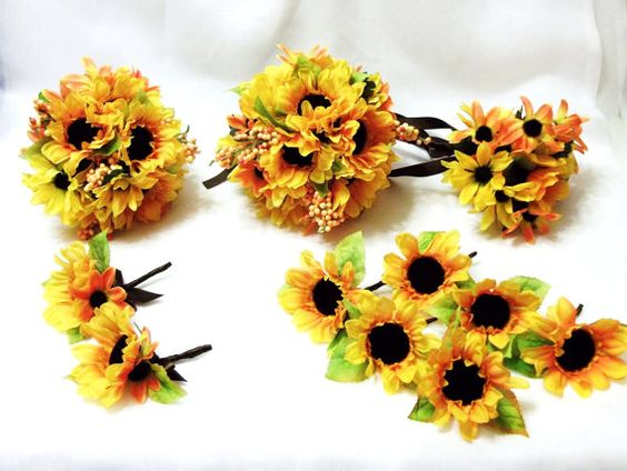 Fall Wedding Autumn Splendor 11 Piece Wedding by SimpleJoysDecor, $205.00