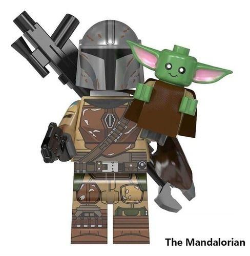 USA seller Mandalorian-Star Wars BABY YODA Custom Minifigure