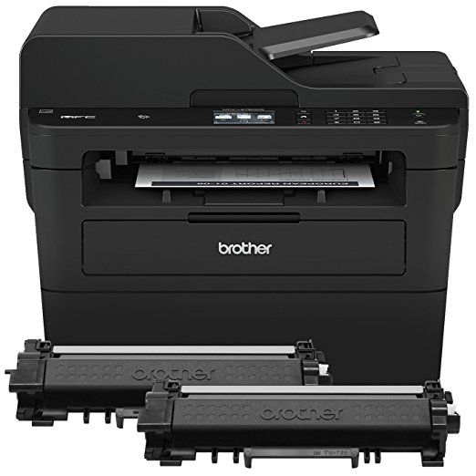 Brother Compact Monochrome Laser All In One Multi Function Printer Mfcl2750dwxl Extended Print Up To Two Years Of Laser Printer Multifunction Printer Printer
