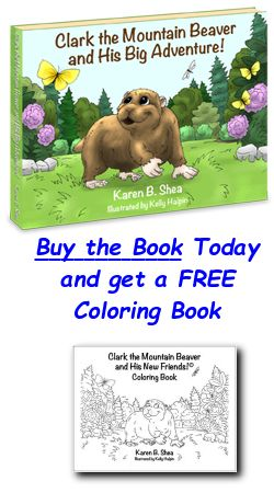 Clark the Mountain Beaver and His Big Adventure is a positive story that will take your child side-by-side with Clark as he learns about friendship, trust and understanding that it is okay to be just who you are.  http://ClarktheMountainBeaver.com