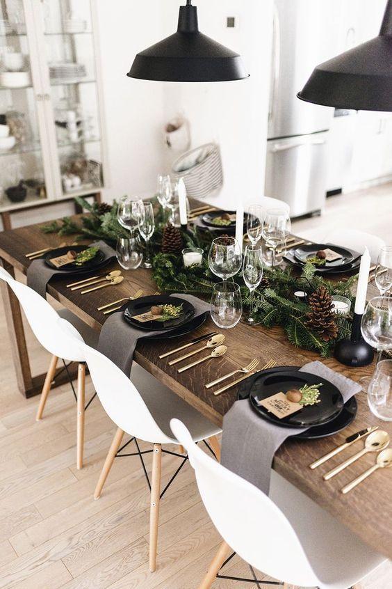 Gallery Wedding Ebay In 2020 Christmas Dining Room Christmas Table Settings Christmas Table Decorations