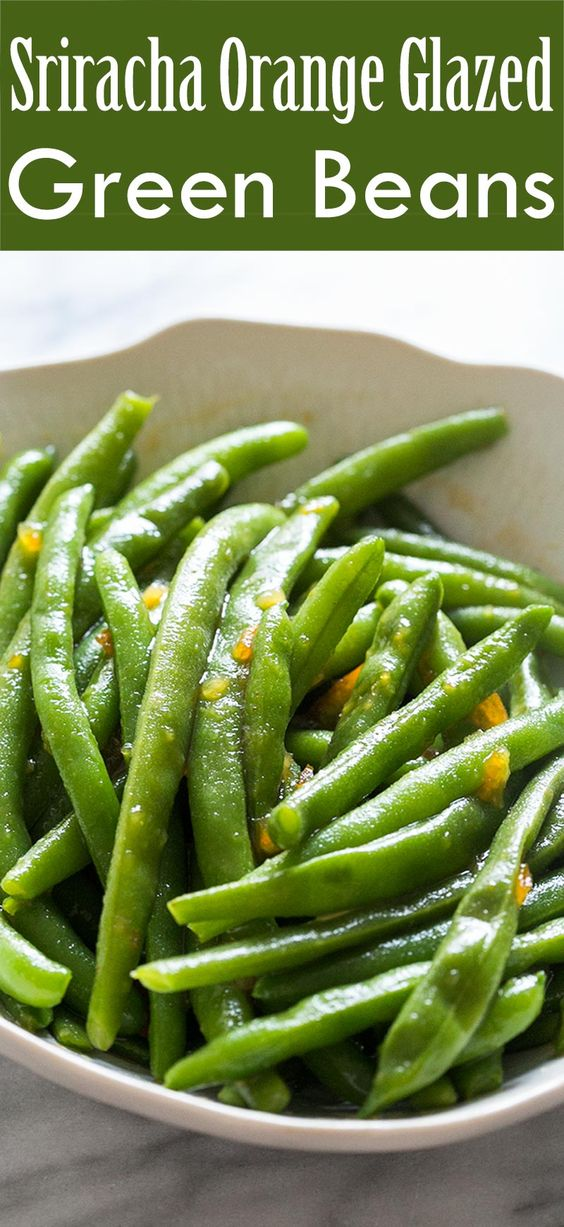 Quick and easy green bean side dish! Green beans boiled and tossed ...