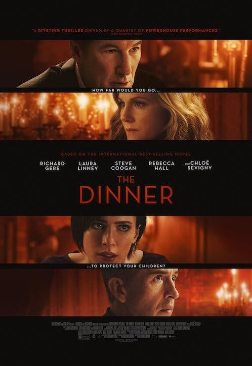 Image result for the dinner movie poster