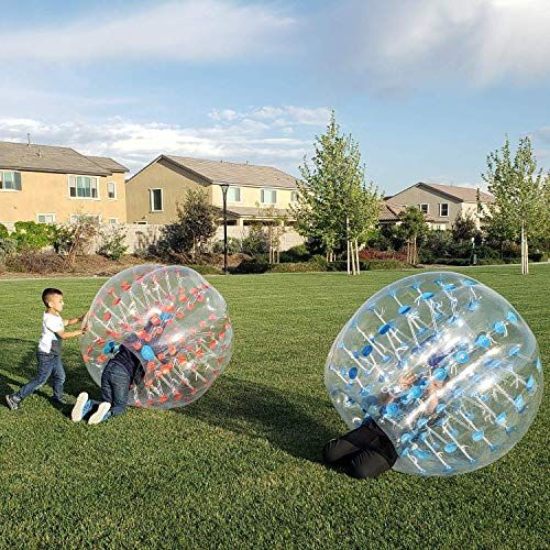 Best Seller Inflatable Bumper Balls Adults Bubble Soccer 5 Ft Human Hamster Ball Inflatable Bubble Ball Teens 1 Pack W Bonus Carry Bag Online Chictrendyf Bubble Soccer Online Bags Waistband Holster