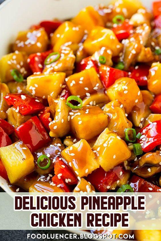 Delicious Pineapple Chicken Recipe