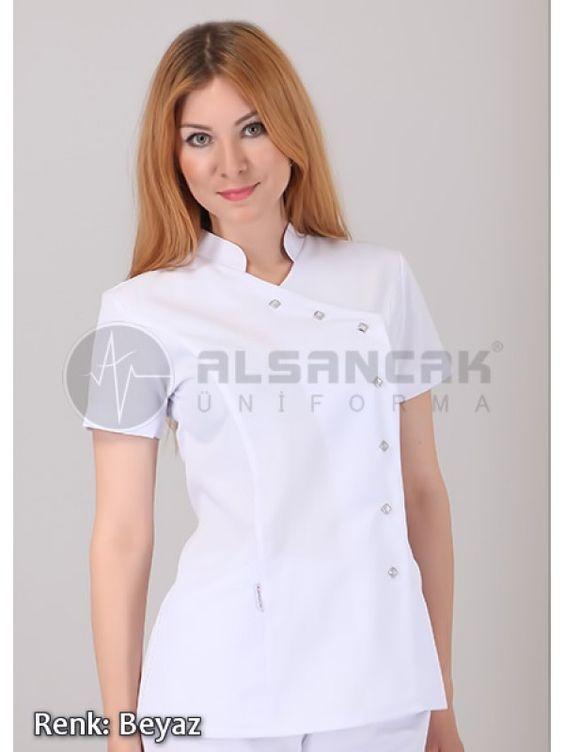 Doktor Ceketi - Hakim Yaka Yandan Çıtçıtlı Alpaka Ceketler  #doktor #hemşire #doktorönlüğü #alsancaküniforma #izmir #moda #laborant #üniforma #uniforma #medikal #medical #scrubs #forma #doktor forması #hemşire forması #yarasakol