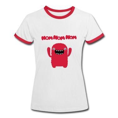 Tee shirt Om nom nom nom #cloth #cute #kids# #funny #hipster #nerd #geek #awesome #gift #shop  NIKE PRO HYPERWARM
