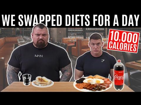 I Swapped Diets With The World S Strongest Man Ft Eddie Hall