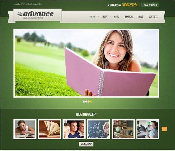 WordPress Themes - Seven Pleasing Wonders of WordPress For Educational Website.