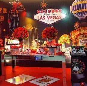 101 fiestas: Fiesta de 15  temática  las Vegas