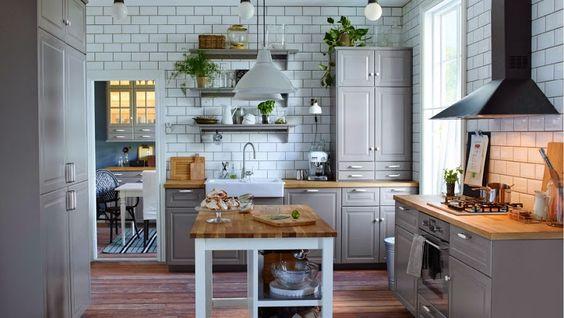 IKEA. Inspiración en cocinas cottage | Decoración