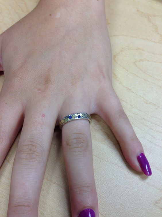Saw this ring on a coworker. Love, love, love it.