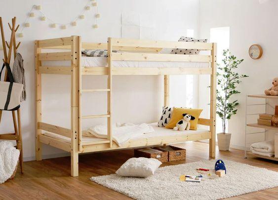 子供用ベッドの選び方とオススメ家具まとめ!木製orパイプのすのこベッド+スプリングマットレスが無難