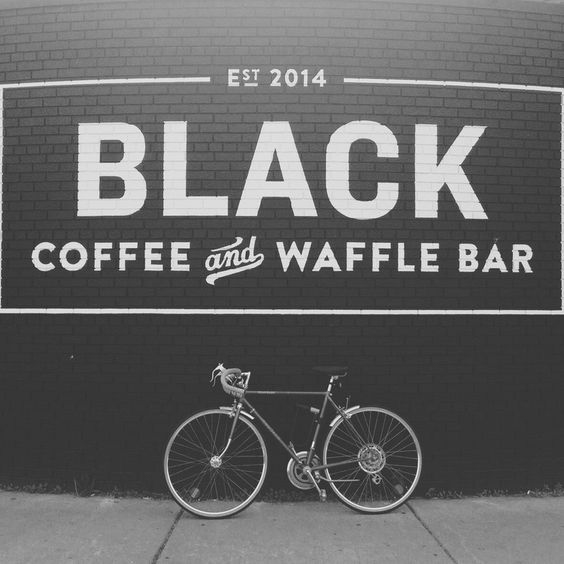 Eat at :: Black Coffee and Waffle Bar :: South Minneapolis