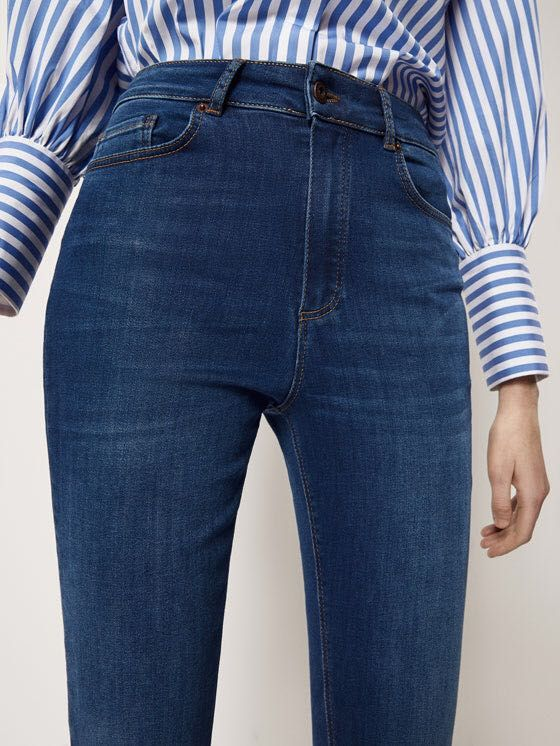 Massimo Dutti Super Skinny High Waist Jeans Eu36 7363091377 Oficjalne Archiwum Allegro Super Skinny High Waist Jeans High Waist Jeans High Waisted Skinny Jeans