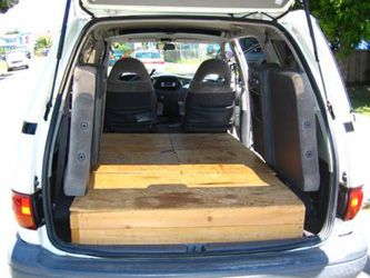 Previa Camper Conversion Toyota Previa Minivans The