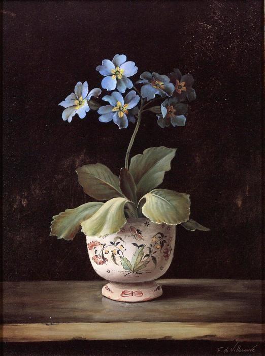 Fabrice de Villeneuve, 1954 ~ Vintage painter