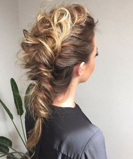 Wondrous Braided Hairstyles Boho And Braided Hair On Pinterest Short Hairstyles Gunalazisus