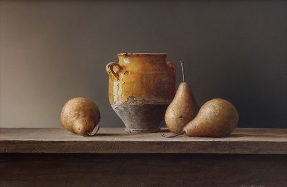Pears and pot