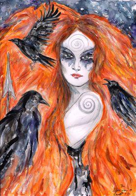 Corrente RJ - Paganismo Celta Unificado: A Morrighan – uma percepção pessoal