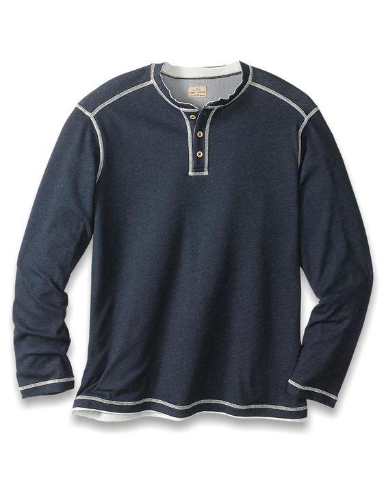 Quick Draw Henley Long-Sleeve T-Shirt