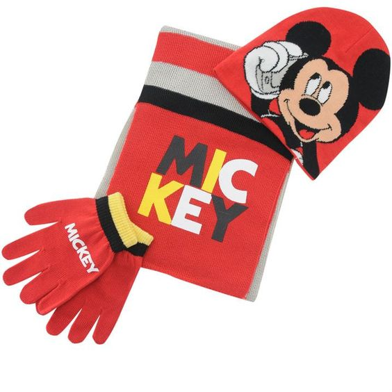 MICKEY MOUSE ~ 3pc Knitted Set