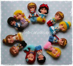 My Felt: Príncipes e princesas em feltro!