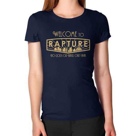 Bioshock Welcome to Rapture Women's T-Shirt