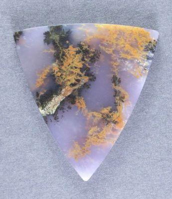 Gorgeous Purple Amethyst Sage Dendritic Agate Cabochon