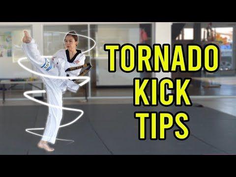 How To Do Better Tornado Kicks 360 Round Kick Taekwondo Karate Martial Arts Youtube Martial Arts Kids Martial Arts Workout Karate Kick