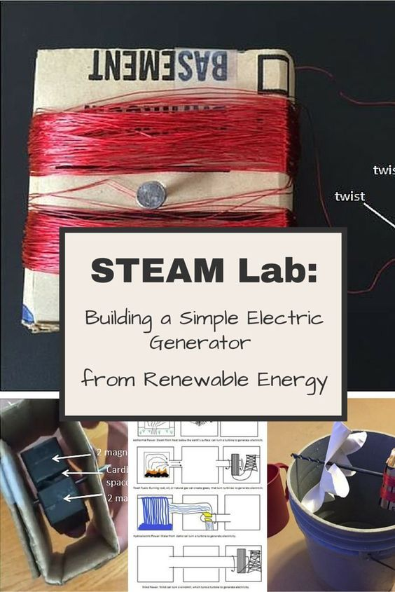 Steam Activity Building A Simple Generator Using Renewable Energy