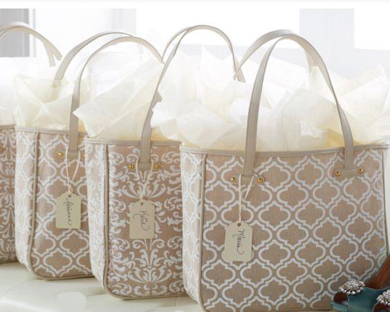 Bridesmaids Gift Idea ~ Quartrafoil Weekend Tote $23.99