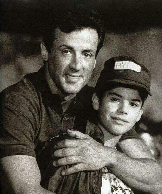 Sylvester & Sage Stallone | Sylvester Stallone ...